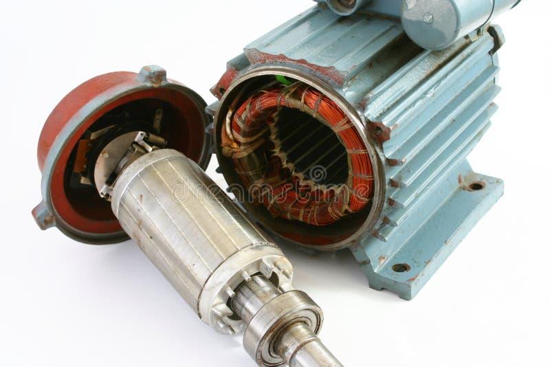 elektrisk motor arkivfoton