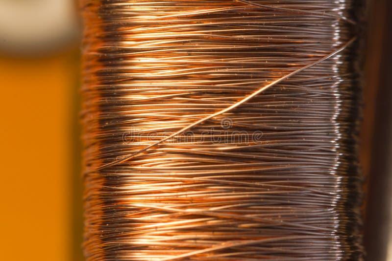 Elektrisk motor för kopparinsida arkivbilder