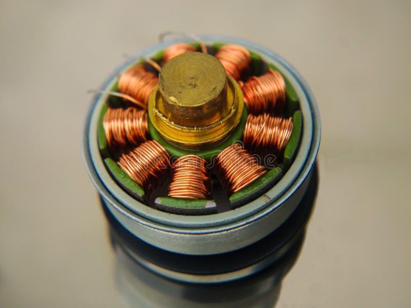 Elektrisk motor inom royaltyfri fotografi