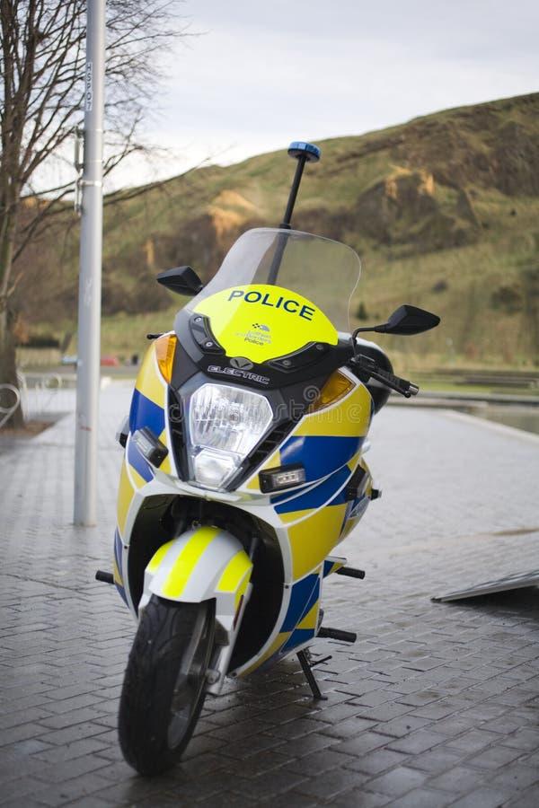elektrisk motorbike royaltyfri bild