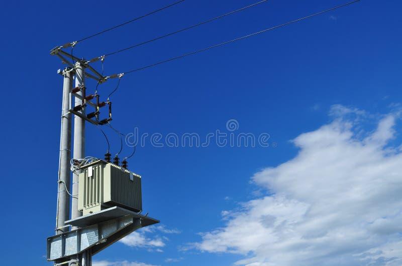 Elektrisk omformare arkivbilder