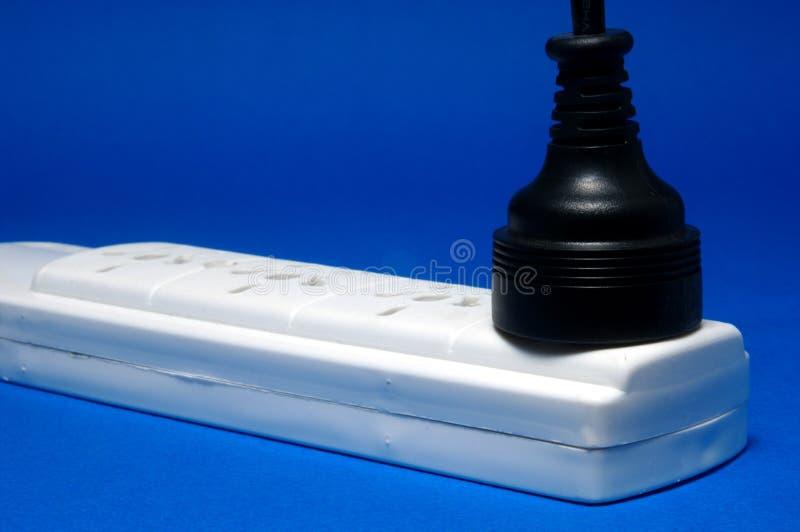 elektrisk propp royaltyfri bild