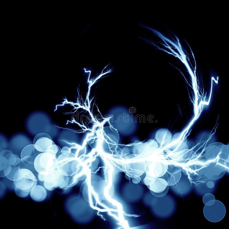 Elektrisk spark royaltyfri illustrationer