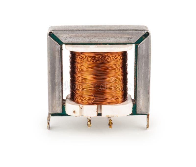 elektrisk transformator fotografering för bildbyråer
