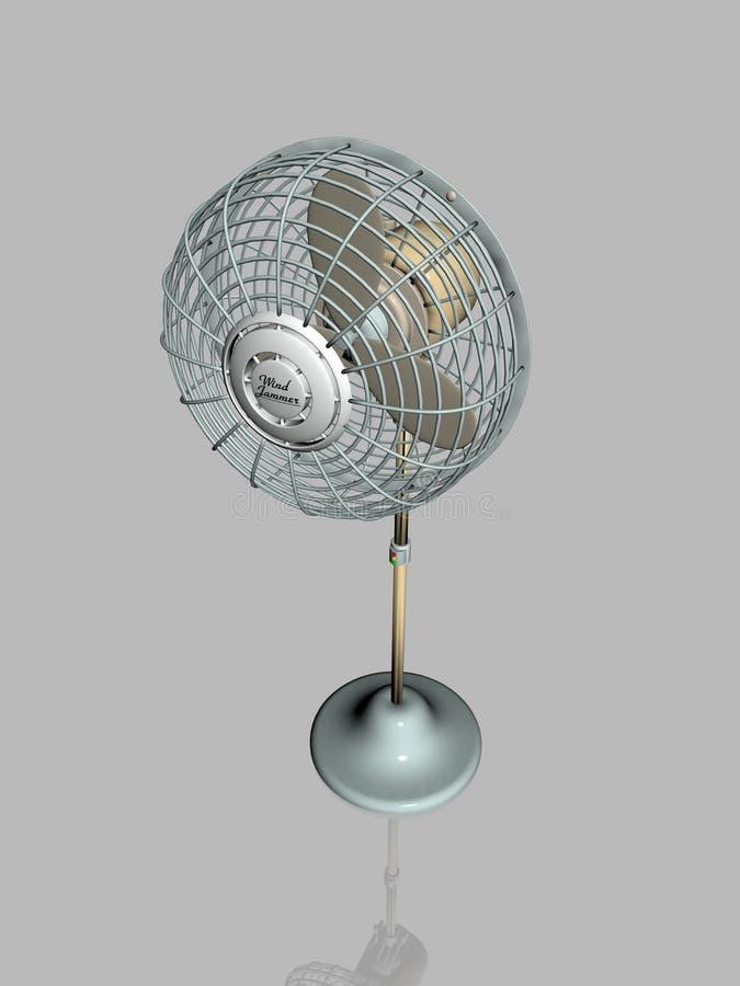 Download Elektrisk Ventilatorjammerwind Stock Illustrationer - Illustration av bris, elkraft: 235942