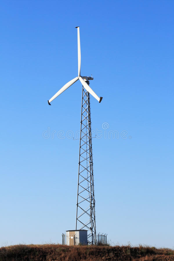 elektrisk windmill arkivbild