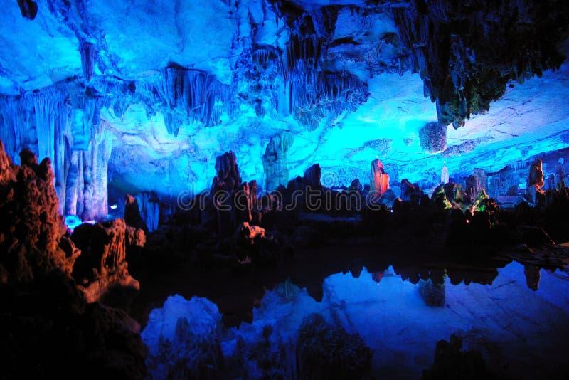 elektriska grottor royaltyfria bilder