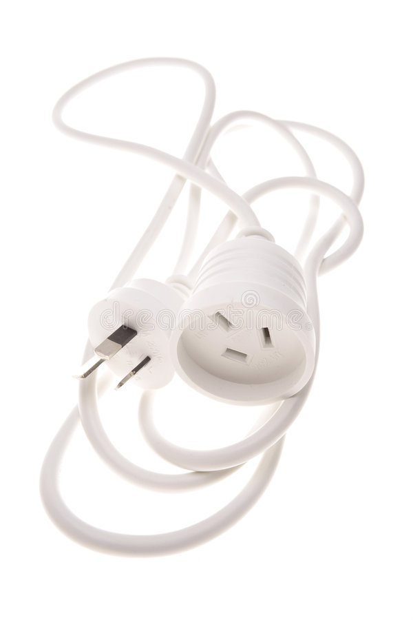 elektriska proppar för kabel arkivfoton