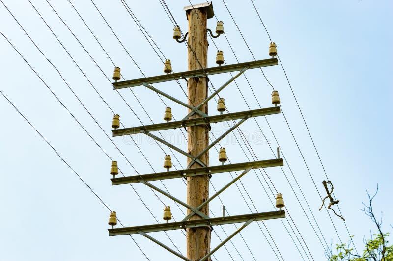 elektriska trådar arkivfoto