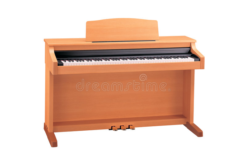 elektriskt piano royaltyfria bilder