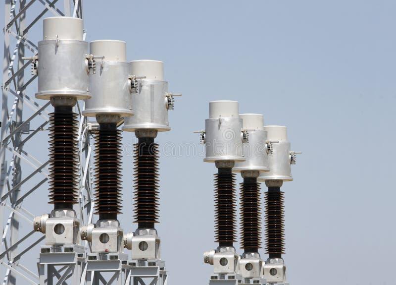 Elektriskt system royaltyfri fotografi