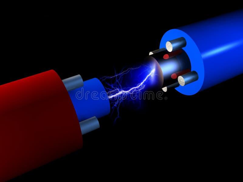 Elektrizität stock abbildung