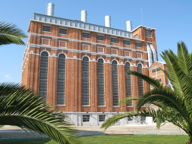 Elektrizitäts-Museum lizenzfreies stockbild