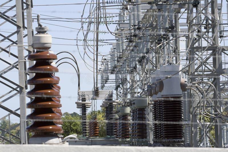 Elektrizitäts-Nebenstelle lizenzfreies stockfoto