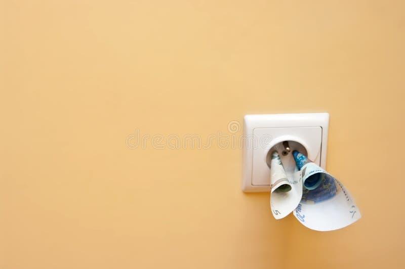 Elektrizitätskosten Lizenzfreie Stockfotos