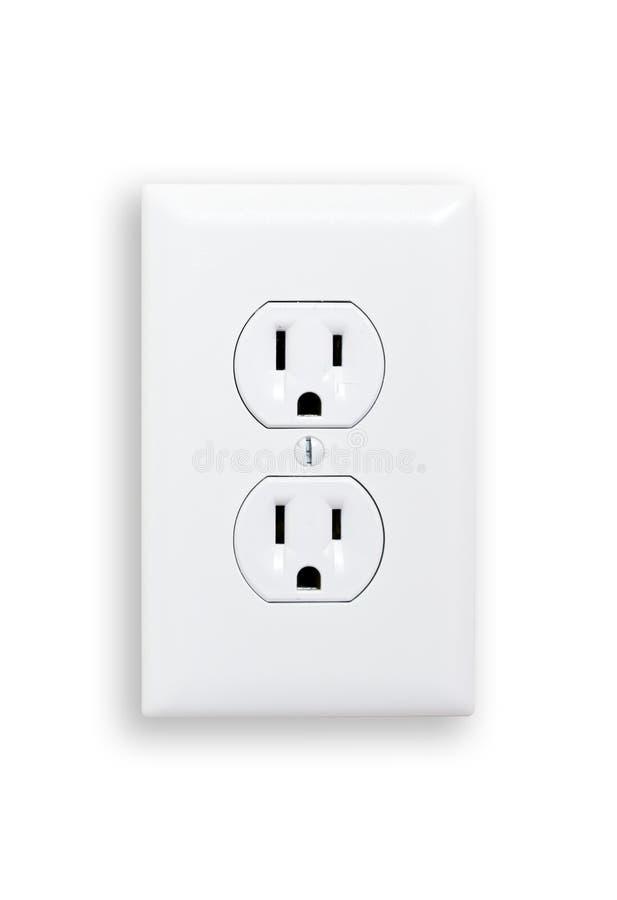 Elektro afzet stock foto