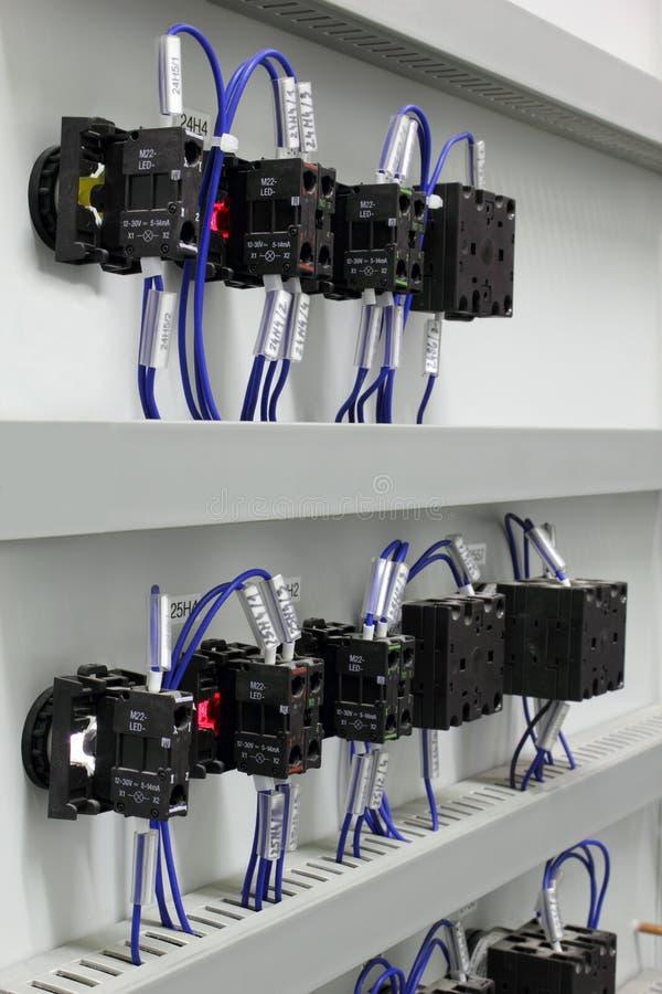 Elektro bedrading stock fotografie