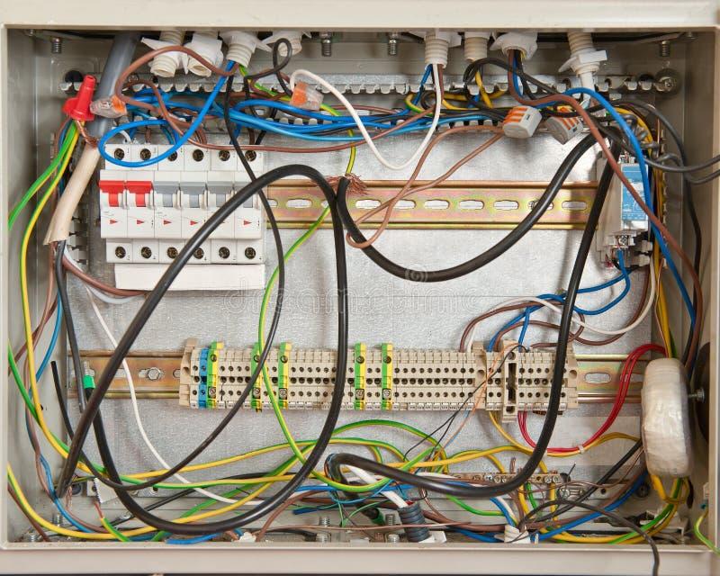 Elektro caos royalty-vrije stock fotografie