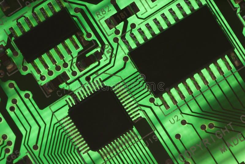 Elektro componenten stock afbeelding