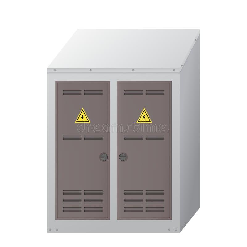 Elektro doos stock illustratie
