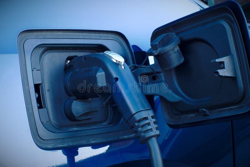 Elektro-Mobil-Kraftwerk-Kabelalternative des Autos schnelle Aufladungs stockfotografie