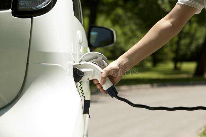 Elektroauto lizenzfreies stockfoto