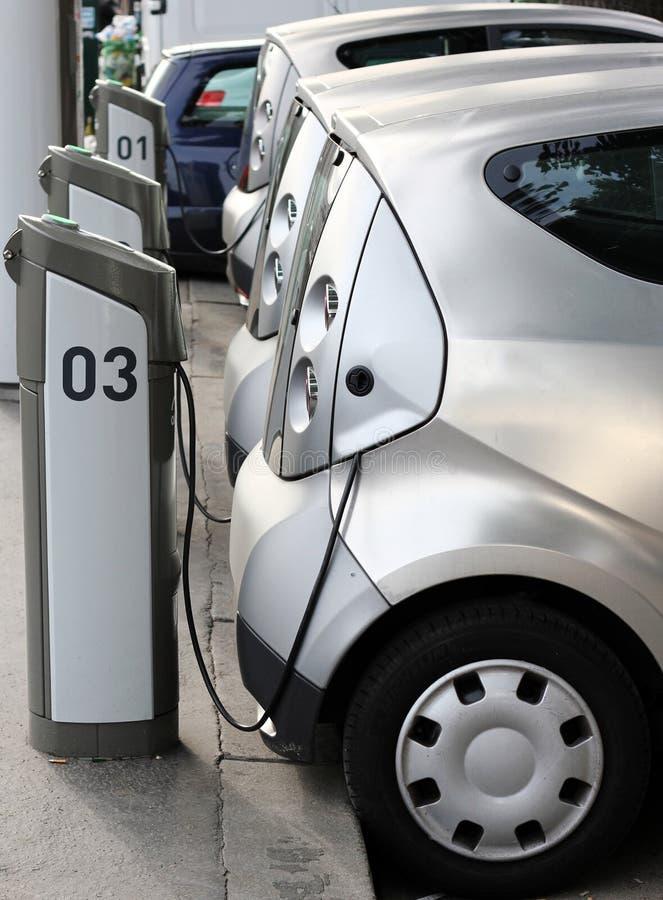 Elektroauto stockbilder