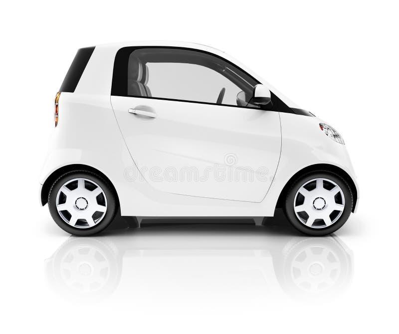 Elektroauto-hybrides Transport-Nicht-Verschmutzungs-Konzept stockbild