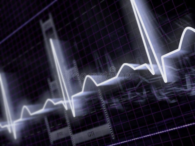 elektrokardiogram fotografia royalty free