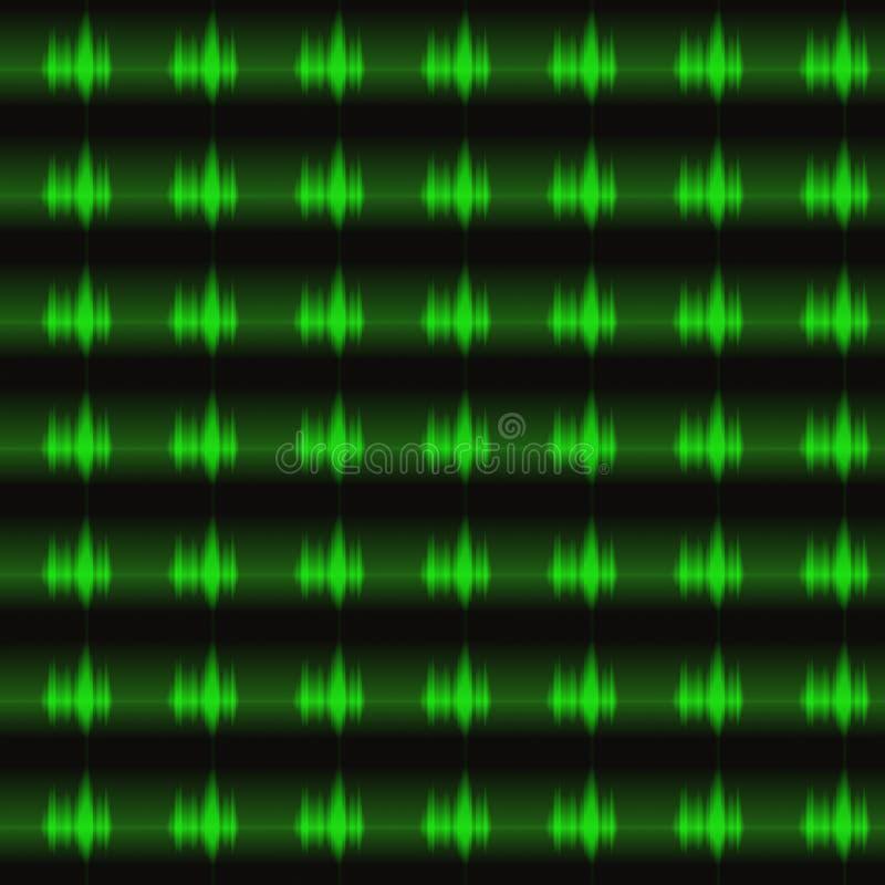 Elektromagnetischer Impuls lizenzfreie abbildung