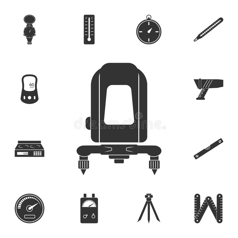 elektroniczna równa ikona Prosta element ilustracja elektroniczny równy symbolu projekt od Pomiarowego kolekcja setu Może używać  royalty ilustracja