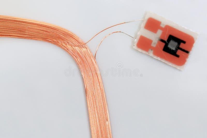 Elektronicznej karty przepustki zdjęcia stock