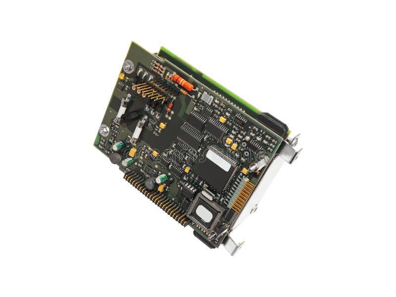 Elektroniczny deskowy kontroler zdjęcia stock