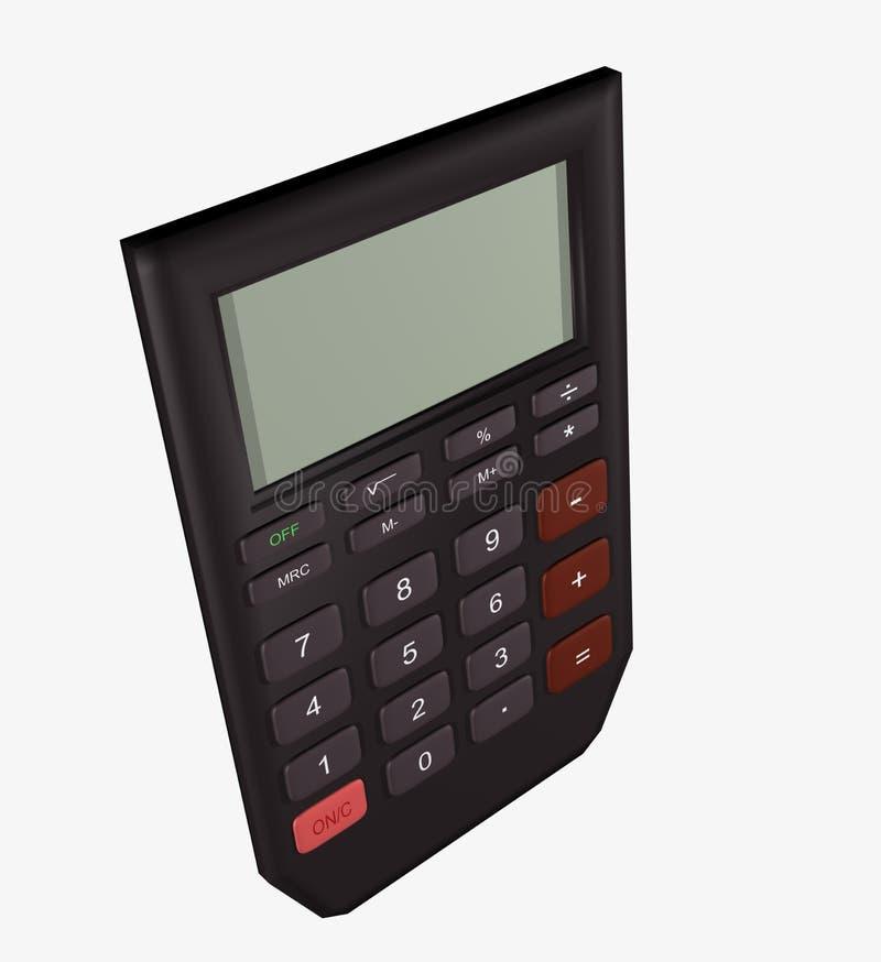 Download Elektroniczny kalkulator ilustracji. Obraz złożonej z pojęcie - 30618045