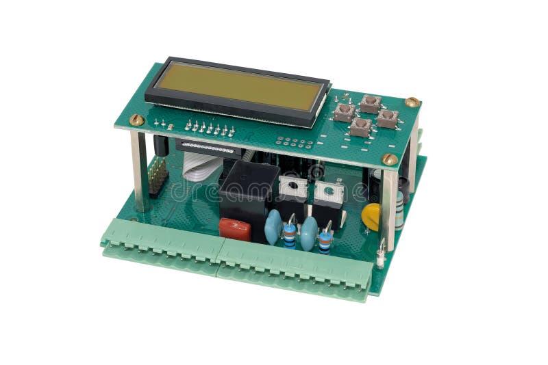 Elektroniczny kontroler zdjęcia stock