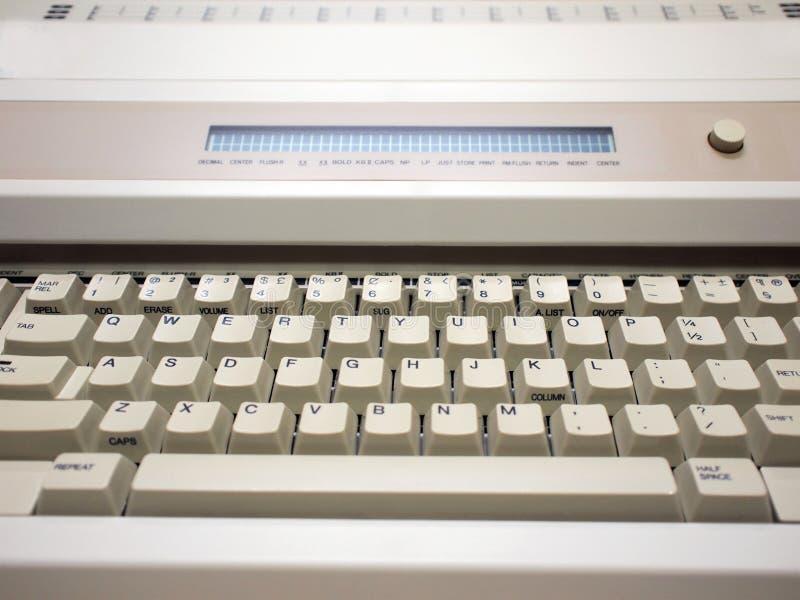 Spotykasz się z maszyną do pisania