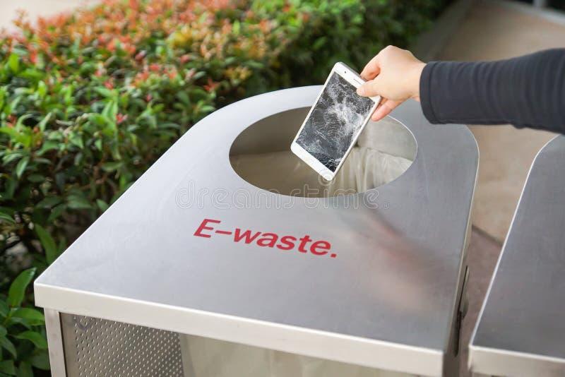 elektroniczny odpady obrazy stock
