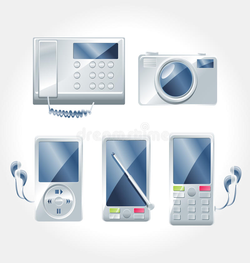 elektroniczny urządzenie wektor zdjęcie stock