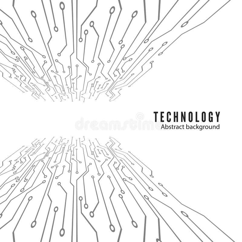 elektroniczny zarządu obwód tło abstrakcyjna technologii również zwrócić corel ilustracji wektora ilustracji