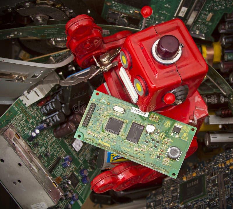 Elektronik lizenzfreie stockfotografie