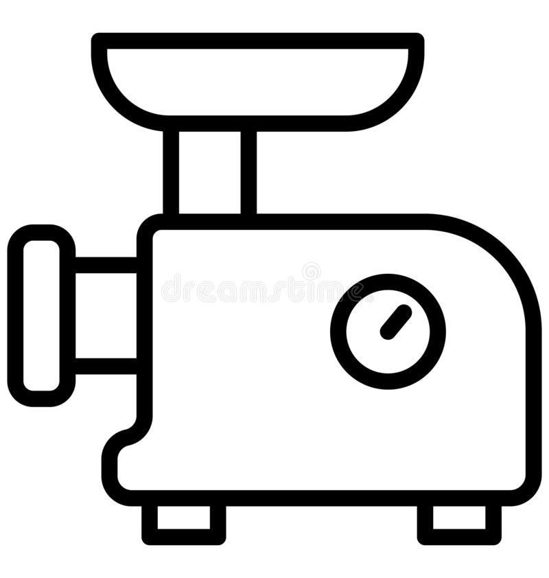 Elektronik den hem- anordningen isolerade vektorsymbolen som kan lätt redigeras i något format eller ändras Elektronik hem- anord stock illustrationer