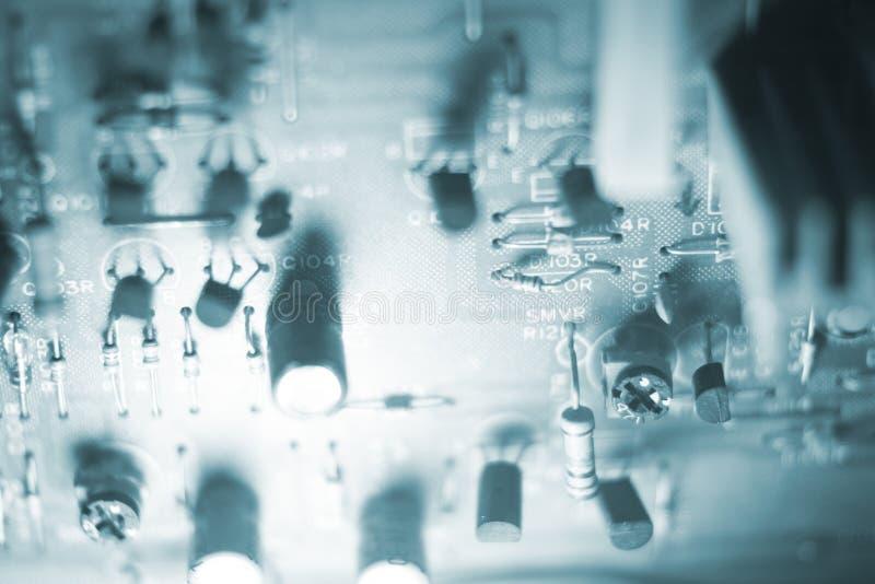 Elektronik för bräde för elektrisk strömkrets arkivfoton