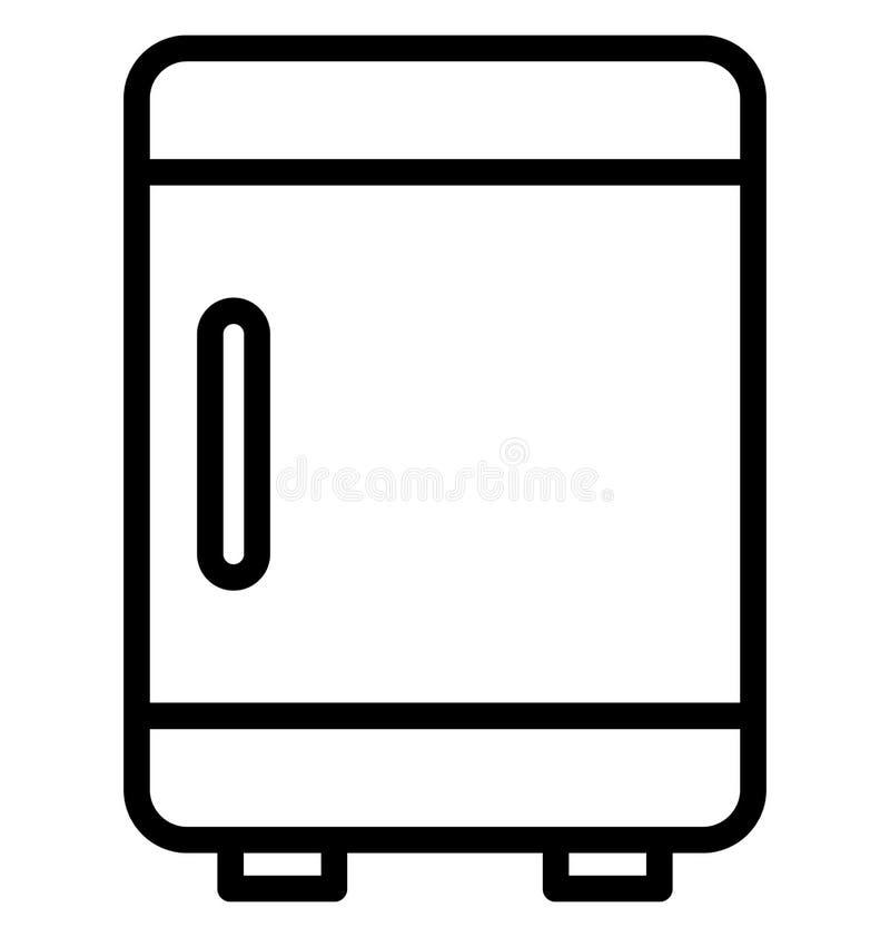 Elektronik isolerade vektorsymbolen som kan l?tt ?ndra eller redigera stock illustrationer