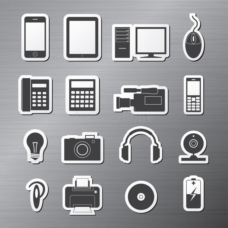 Elektronika stock illustratie