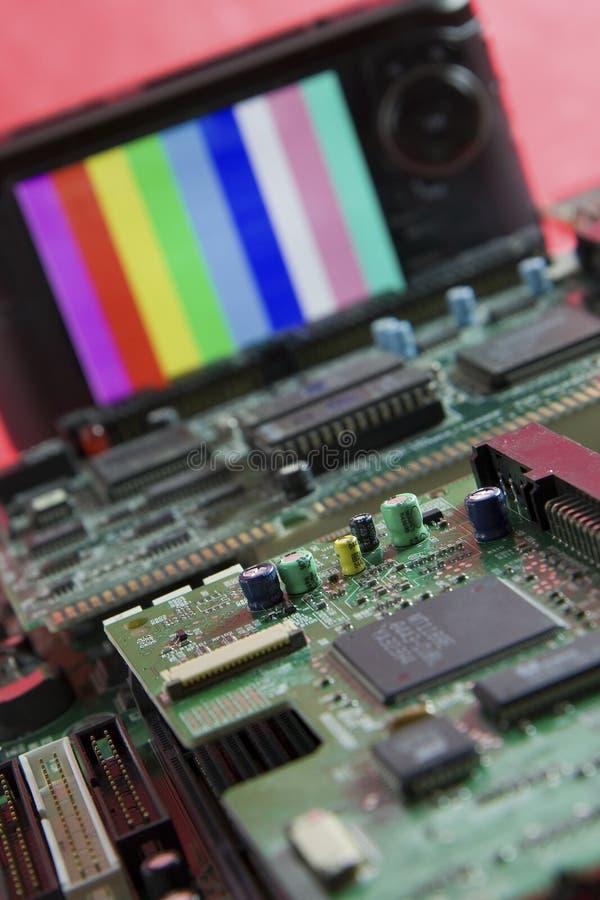elektronika zdjęcie stock