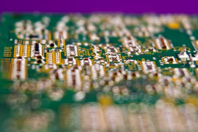 Elektronika, części elektroniczne, części zamienne obraz stock