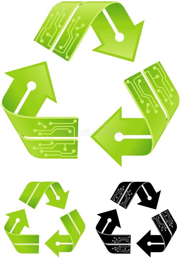Elektronika Przetwarzać ilustracji