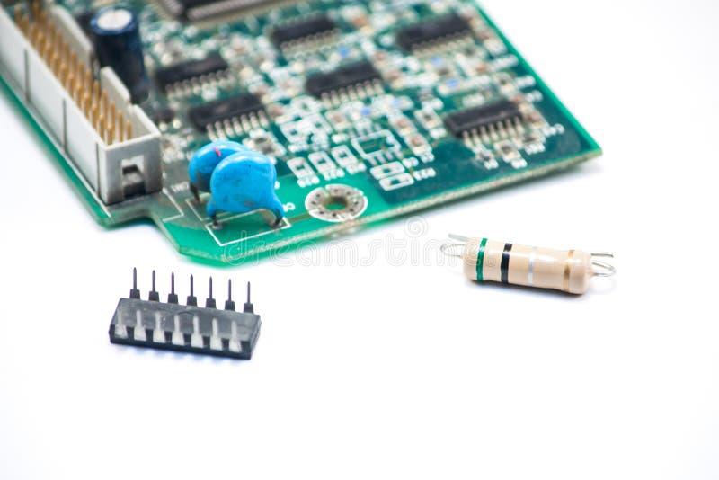 Elektronika szerokie obrazy stock