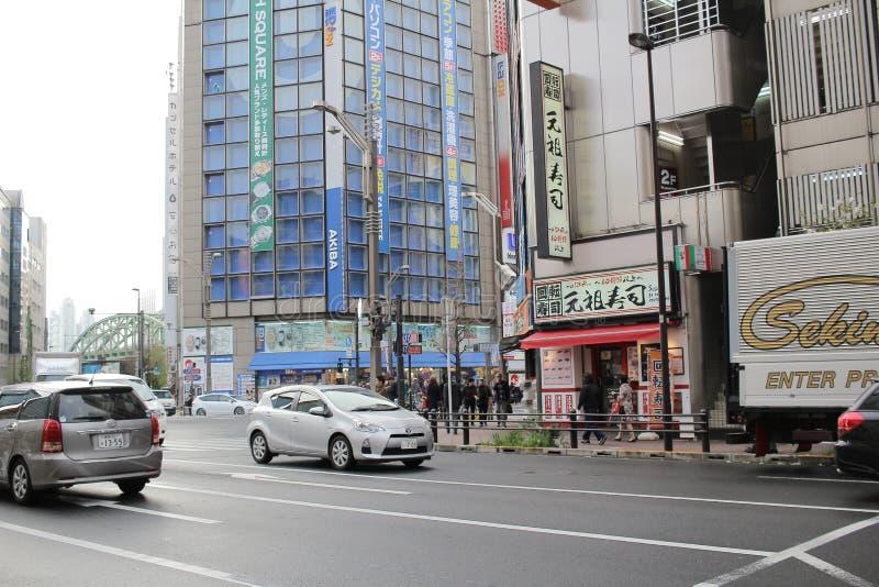 Elektronika zakupy centra handlowe w Akihabara fotografia stock
