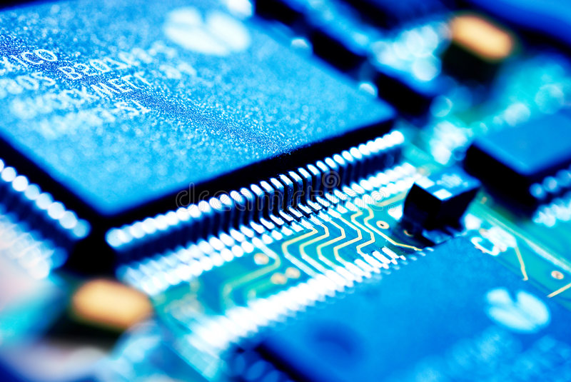 elektronikteknologi royaltyfri bild